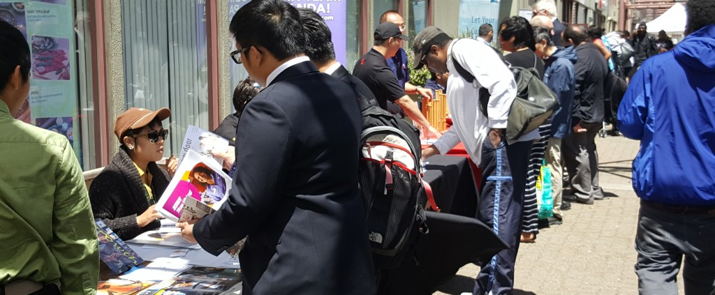 SCSF Summer Job Fair Participants and Employers