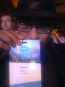 SCSF Program Asst. George at TrailheaDX